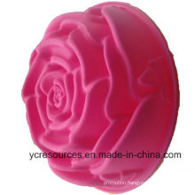 Silicone Creative Big Size Rose Design Cake Mould